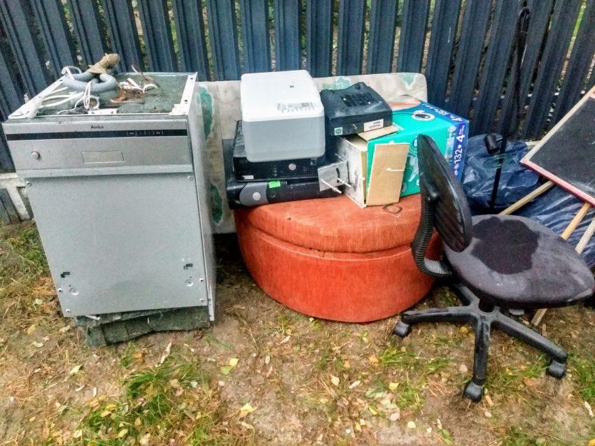 Odbiór odpadów wielkogabarytowych i elektrośmieci