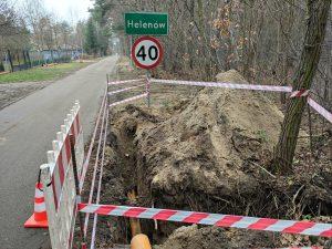 Budowa sieci gazowej w Helenowie i Sokolnikach-Lesie